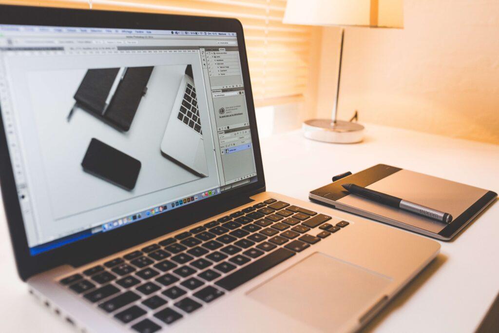 Работа устройства. Ремонт Macbook - выполнен
